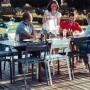 На фото: Cтілець Oléron 5501 Verbena (550129), Кольорові стільці Fermob, каталог, ціна