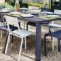На фото: Обідній стіл Oléron 5531 Willow Green (553165), Стіл Oléron 205х100 Fermob, каталог, ціна