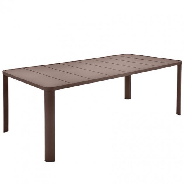 На фото: Обідній стіл Oléron 5531 Cedar Green (553102), Стіл Oléron 205х100 Fermob, каталог, ціна