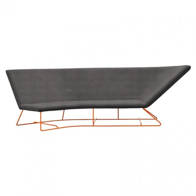 На фото: Вуличний диван Ultrasofa (62412778), Диван Ultrasofa Fermob, каталог, ціна