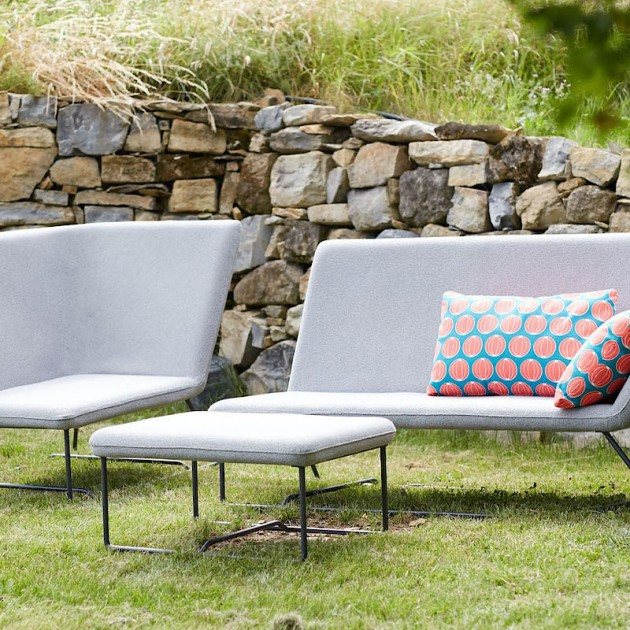 На фото: Вуличний диван Ultrasofa (62424736), Двомісний диван Ultrasofa Fermob, каталог, ціна
