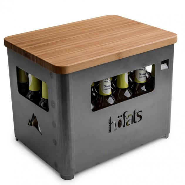 На фото: Бамбукова дошка Beer Box Board (070201), Грилі і BBQ Höfats, каталог, ціна