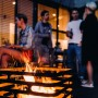 На фото: Вогнище-гриль Cube Black (020101), Грилі і BBQ Höfats, каталог, ціна