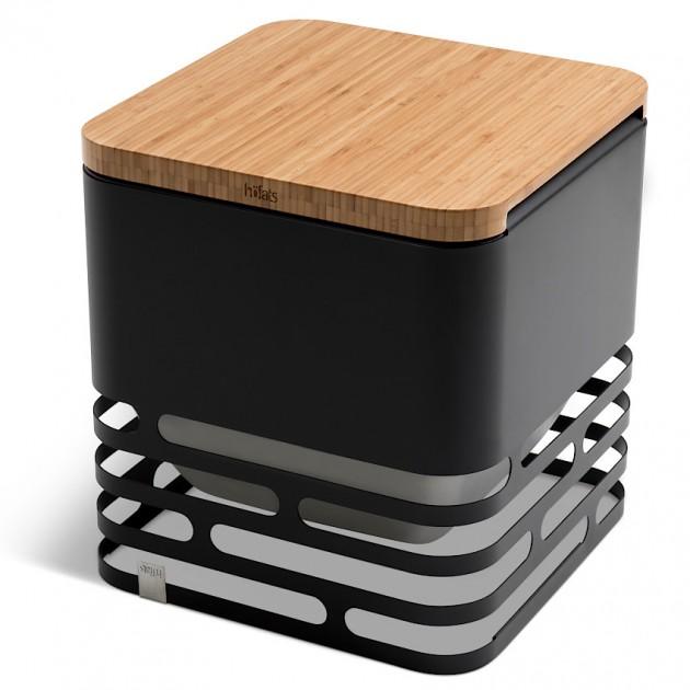 На фото: Бамбукова дошка Cube Board (020201), Грилі і BBQ Höfats, каталог, ціна