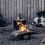 На фото: Вогнище-гриль Ellipse (060101), Грилі і BBQ Höfats, каталог, ціна