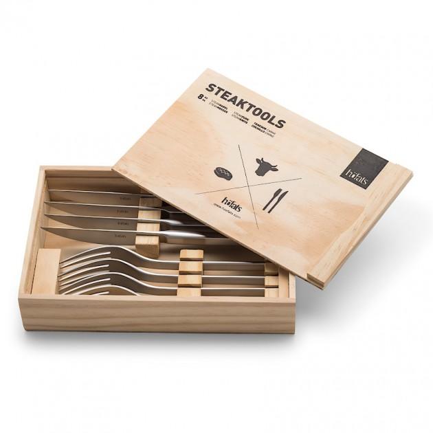 На фото: Набір приборів Steaktools (030501), Грилі і BBQ Höfats, каталог, ціна