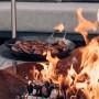 На фото: Вогнище - гриль Triple 90 (050102), Грилі і BBQ Höfats, каталог, ціна