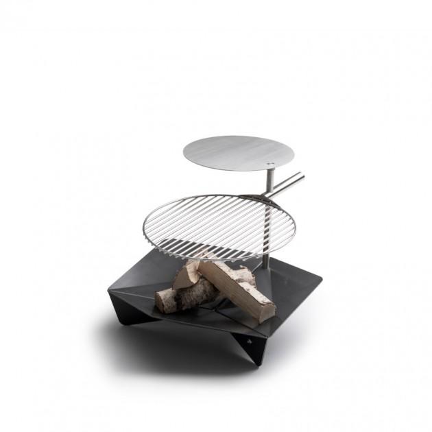 На фото: Столик для гриля Triple Table (050201), Грилі і BBQ Höfats, каталог, ціна
