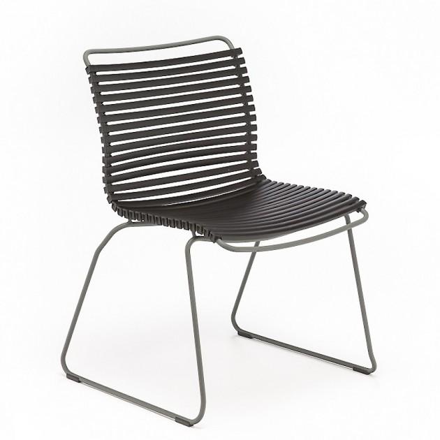 На фото: Стілець Click Black (10814-2018), Металеві стільці Houe, каталог, ціна