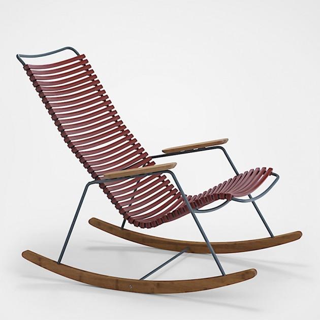 На фото: Крісло-гойдалка Click Paprika (10804-1918), Вуличні крісла-гойдалки Houe, каталог, ціна