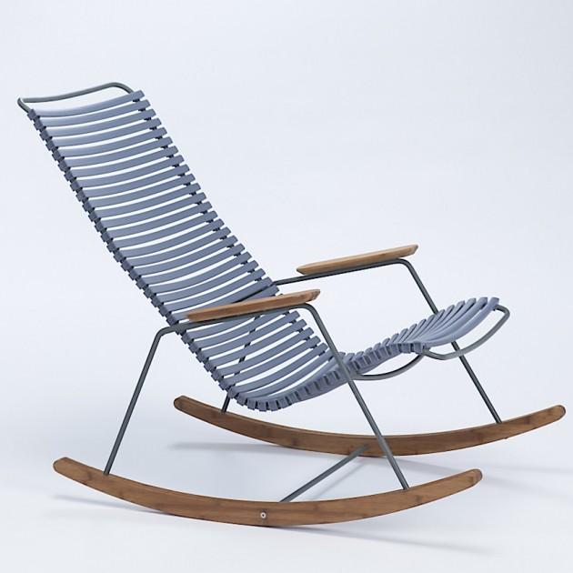 На фото: Крісло-гойдалка Click Pigeon Blue (10804-8218), Вуличні крісла-гойдалки Houe, каталог, ціна