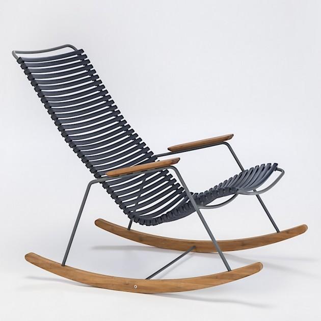 На фото: Крісло-гойдалка Click Dark Blue (10804-9118), Вуличні крісла-гойдалки Houe, каталог, ціна