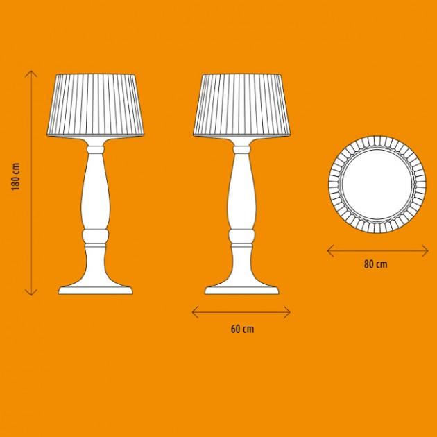 На фото: Світильник Agata (644110), Підлогові світильники Myyour, каталог, ціна