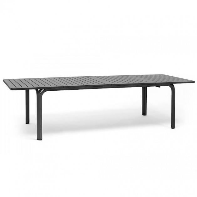 На фото: Великий розкладний стіл Alloro 210 Antracite (42852.02.000), Пластикові столи Nardi, каталог, ціна