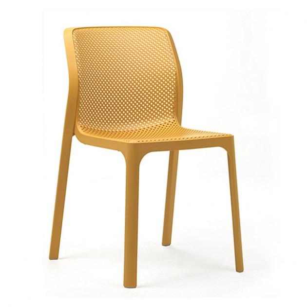 На фото: Стілець Bit Senape (40328.56.000), Пластикові стільці Nardi, каталог, ціна