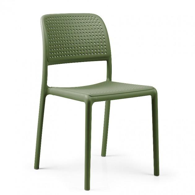На фото: Стілець Bora Bistrot Agave (40243.16.000), Пластикові стільці Nardi, каталог, ціна