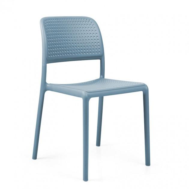 На фото: Стілець Bora Bistrot Celeste (40243.39.000), Пластикові стільці Nardi, каталог, ціна