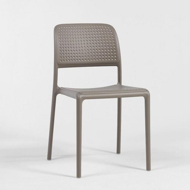 На фото: Стілець Bora Bistrot Tortora (40243.10.000), Пластикові стільці Nardi, каталог, ціна