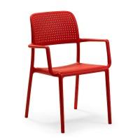 На фото: Стілець Bora Rosso (40242.07.000), Пластикові стільці Nardi, каталог, ціна
