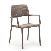 На фото: Стілець Bora Tortora (40242.10.000), Пластикові стільці Nardi, каталог, ціна