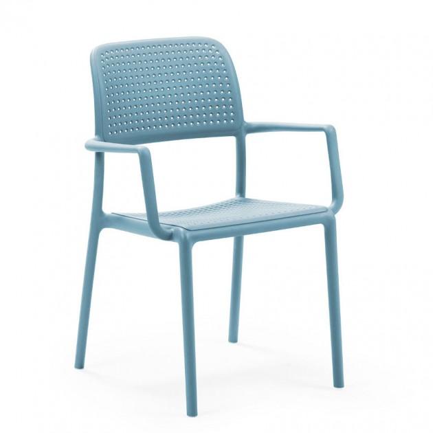 На фото: Стілець Bora Celeste (40242.39.000), Пластикові стільці Nardi, каталог, ціна