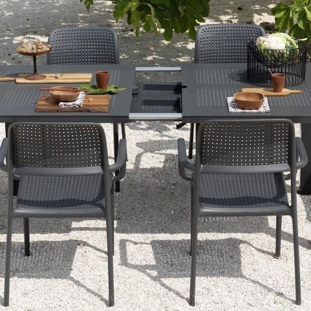 На фото: Стілець Bora Antracite (40242.02.000), Пластикові стільці Nardi, каталог, ціна