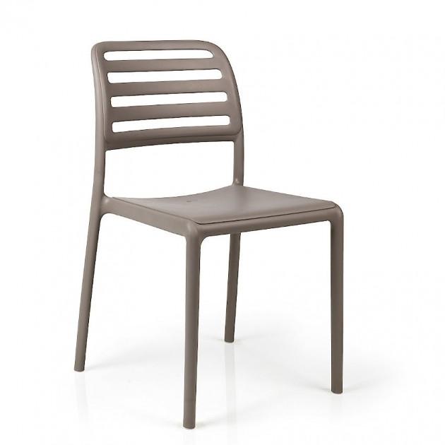 На фото: Стілець Costa Bistrot Tortora (40245.10.000), Пластикові стільці Nardi, каталог, ціна