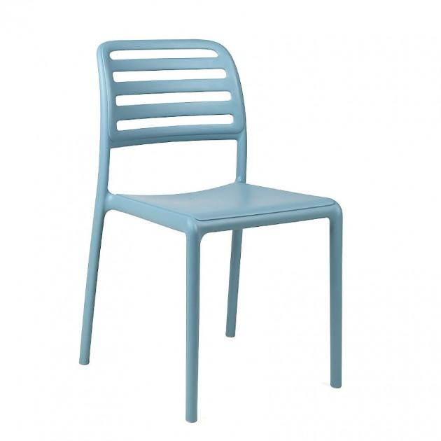 На фото: Стілець Costa Bistrot Celeste (40245.39.000), Пластикові стільці Nardi, каталог, ціна