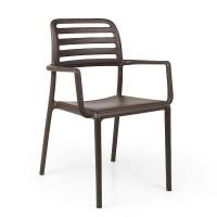 На фото: Стілець Costa Caffe (40244.05.000), Пластикові стільці Nardi, каталог, ціна