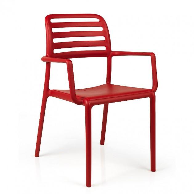 На фото: Стілець Costa Rosso (40244.07.000), Пластикові стільці Nardi, каталог, ціна