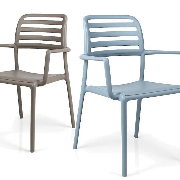На фото: Стілець Costa Tortora (40244.10.000), Пластикові стільці Nardi, каталог, ціна