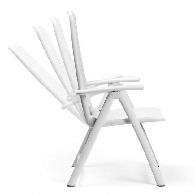 На фото: Крісло-шезлонг Darsena Bianco (40316.00.000), Пластикові крісла Nardi, каталог, ціна