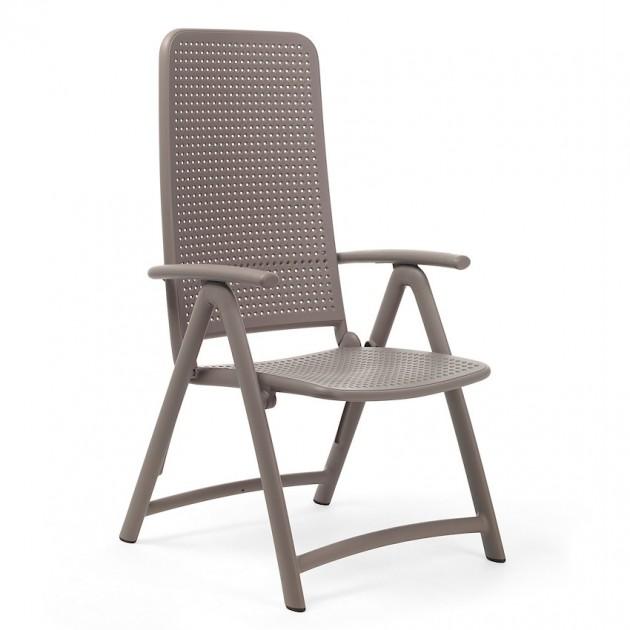 На фото: Крісло-шезлонг Darsena Tortora (40316.10.000), Пластикові крісла Nardi, каталог, ціна