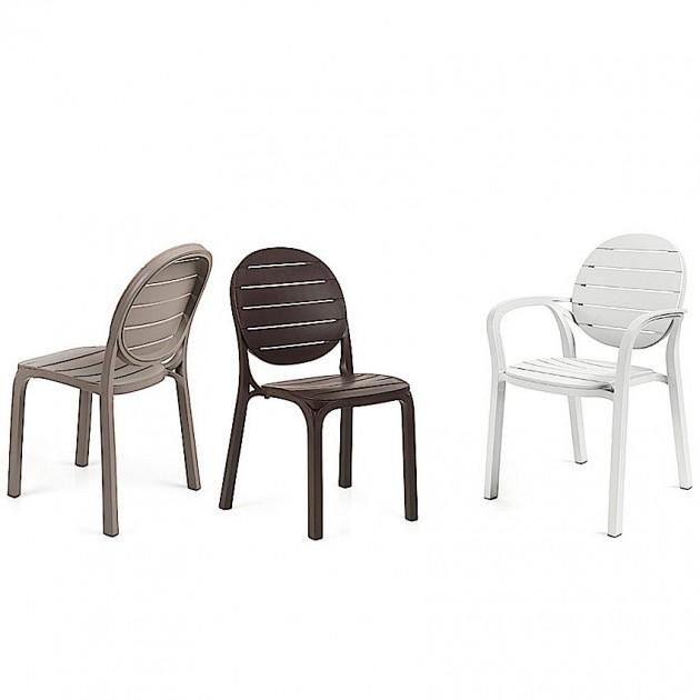 На фото: Стілець Erica Caffe (40236.05.005), Пластикові стільці Nardi, каталог, ціна