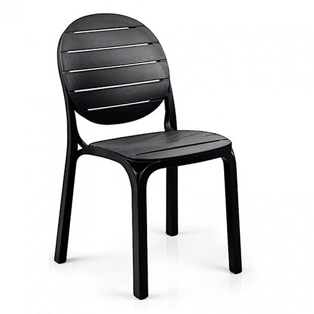 На фото: Стілець Erica Antracite (40236.02.002), Пластикові стільці Nardi, каталог, ціна