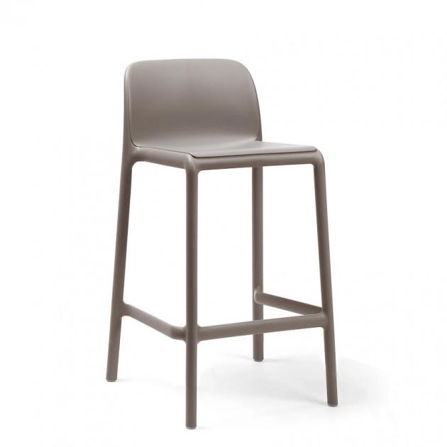 На фото: Напівбарний стілець Faro Mini Tortora (40347.10.000), Барні стільці Nardi, каталог, ціна