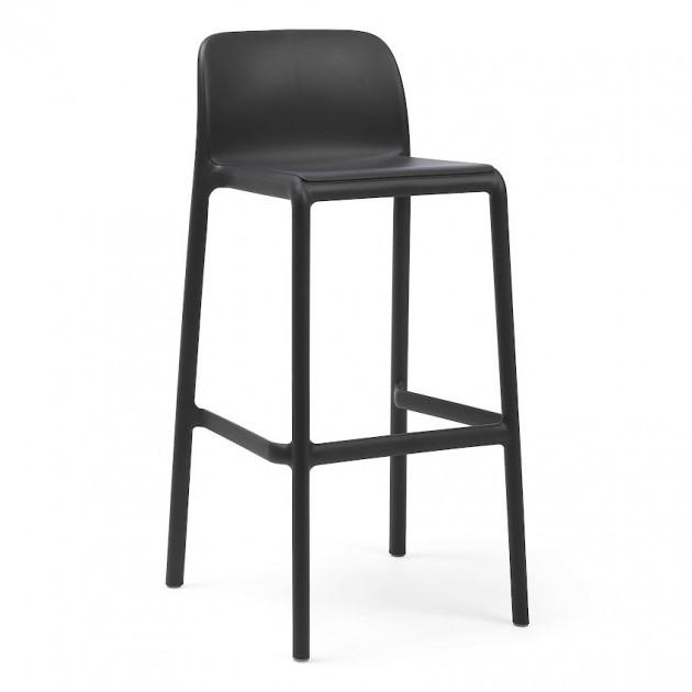 На фото: Барний стілець Faro Antracite (40346.02.000), Барні стільці Nardi, каталог, ціна