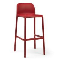 На фото: Барний стілець Faro Rosso (40346.07.000), Барні стільці Nardi, каталог, ціна