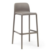 На фото: Барний стілець Faro Tortora (40346.10.000), Барні стільці Nardi, каталог, ціна