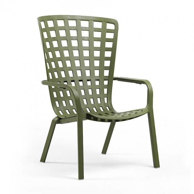 На фото: Крісло для відпочинку Folio Agave (40300.16.000), Пластикові крісла Nardi, каталог, ціна