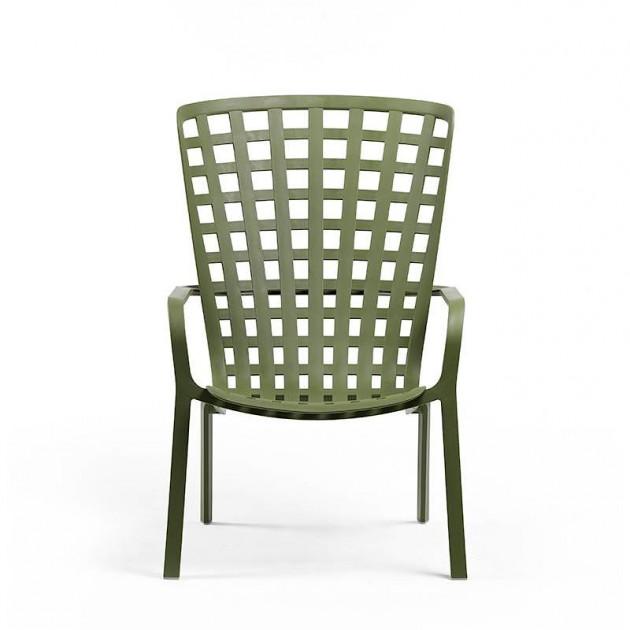 На фото: Крісло для відпочинку Folio Antracite (40300.02.000), Пластикові крісла Nardi, каталог, ціна