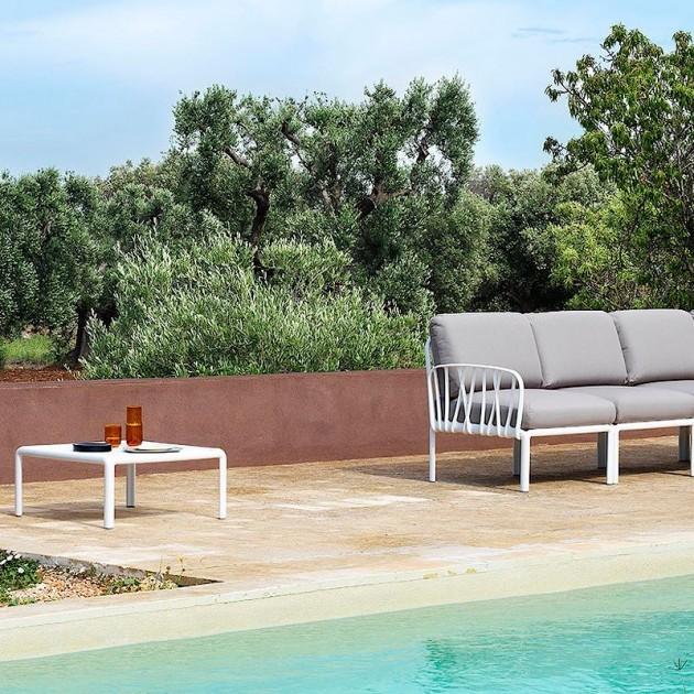 На фото: Кутовий модуль Komodo Angolo Antracite Ghiaccio Sunbrella® (40374.02.138), Кутовий модуль Komodo Elemento Angolo Nardi, каталог, ціна