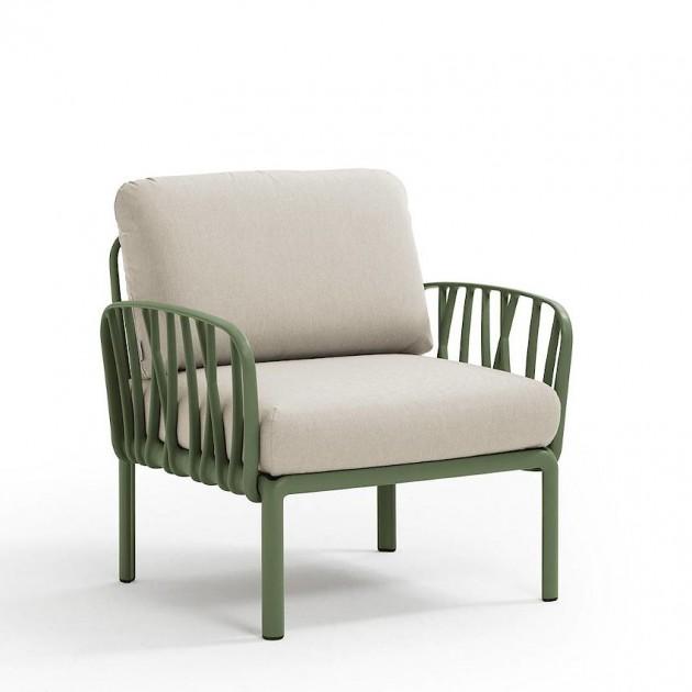 На фото: Модульне крісло Komodo Poltrona Agave Tech Panama (40371.16.131), Вуличне крісло Komodo Poltrona Nardi, каталог, ціна