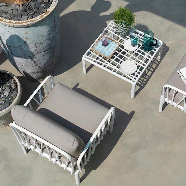 На фото: Модульне крісло Komodo Poltrona Tortora Canvas Sunbrella® laminato (40371.10.170), Вуличне крісло Komodo Poltrona Nardi, каталог, ціна