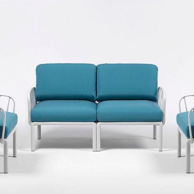 На фото: Модульне крісло Komodo Poltrona Bianco Adriatic Sunbrella® (40371.00.142), Вуличне крісло Komodo Poltrona Nardi, каталог, ціна