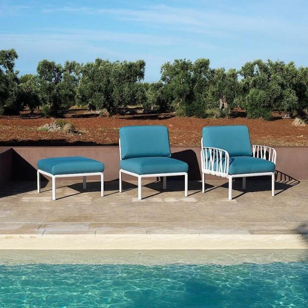 На фото: Модульне крісло Komodo Poltrona Tortora Adriatic Sunbrella® (40371.10.142), Вуличне крісло Komodo Poltrona Nardi, каталог, ціна