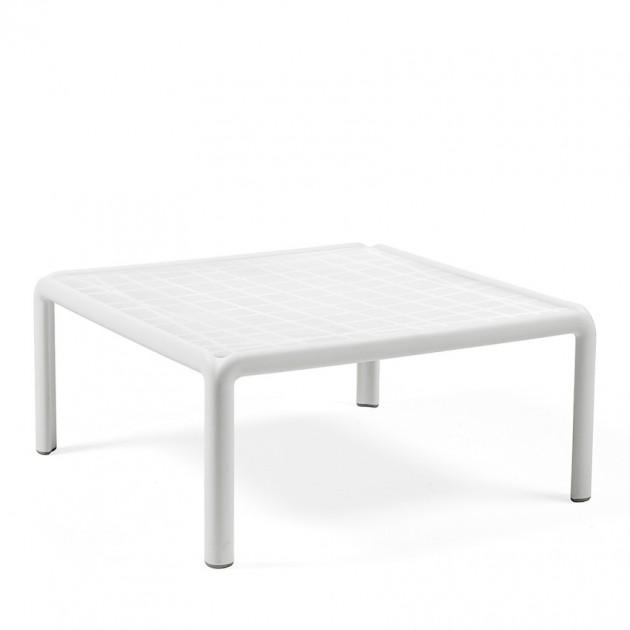 На фото: Столик Komodo Tavolino (40378.00.000), Пластикові столи Nardi, каталог, ціна