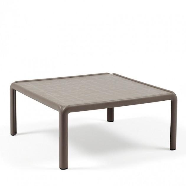 На фото: Столик Komodo Tavolino (40378.10.000), Пластикові столи Nardi, каталог, ціна