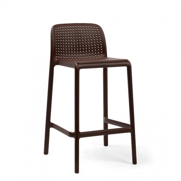 На фото: Напівбарний стілець Lido Mini Caffe (40345.05.000), Барні стільці Nardi, каталог, ціна