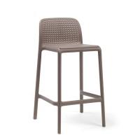 На фото: Напівбарний стілець Lido Mini (40345.10.000), Барні стільці Nardi, каталог, ціна